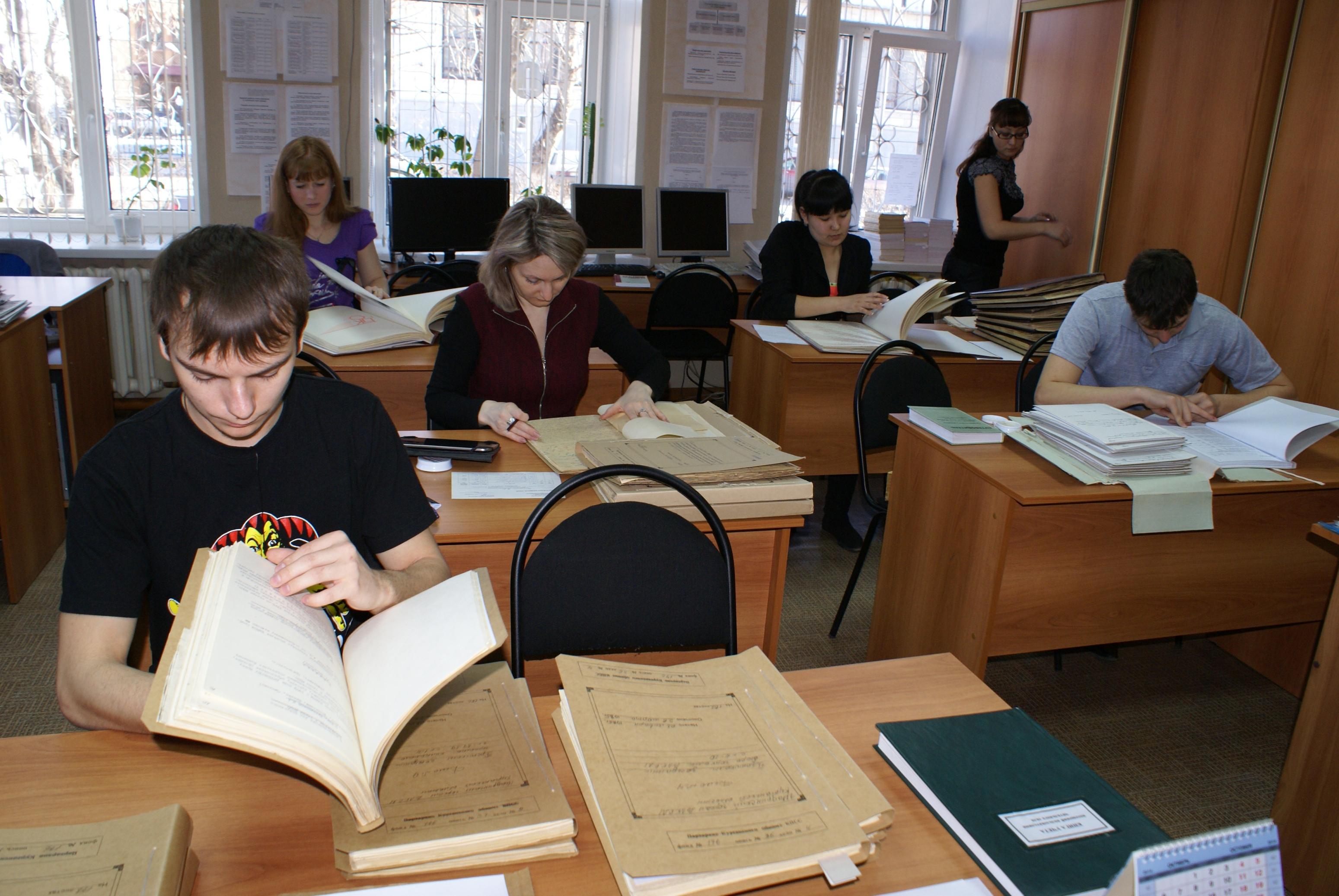 Об архивной практике студентов Государственный архив общественно  Я Л Жиркова